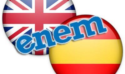ingles espanhol enem Como escolher entre inglês e espanhol no Enem