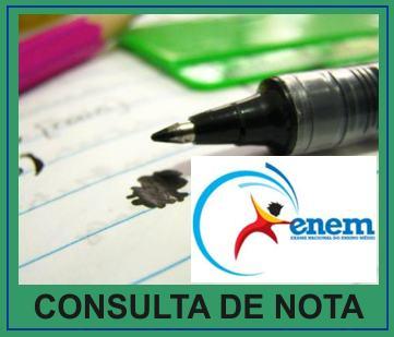 enem nota consulta Nota do Enem   Consulta