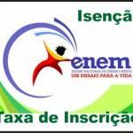 taxa de inscricao enem isencao 150x150 Questionário socioeconômico do Enem